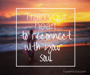 Reconnect with soul